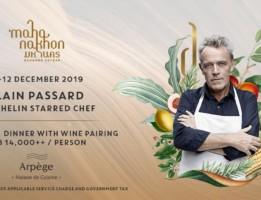 Mahanakhon Bangkok SkyBar Features 3 Michelin Starred Chef Alain Passard